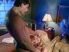 Incredible pornstar Nina Hartley in amazing cunnilingus, blonde adult video