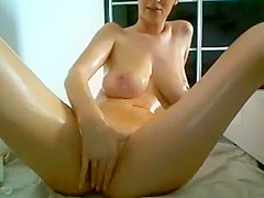Sexy mature slut gets naked and teases with her pussy on cam