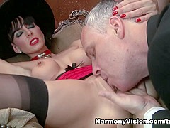 Franki Rider in Visiting A Spicy Milf - HarmonyVision