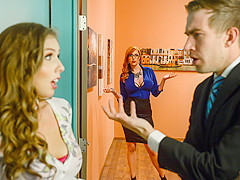 Lauren Phillips & Lena Paul & Danny D in The New Girl: Part 3 - Brazzers