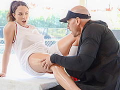 Lily Love & Johnny Sins in Applying Pressure To The Tender Pussy - Brazzers
