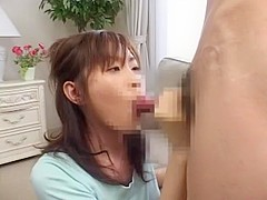 Horny Japanese girl Chinatsu Izawa in Crazy Blowjob JAV movie