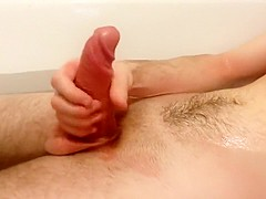 S that time to play with my cock in the bath