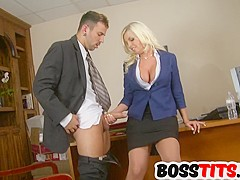 It is a breast fest with Britney Amber