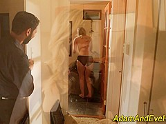 Bdsm babe gets pounded