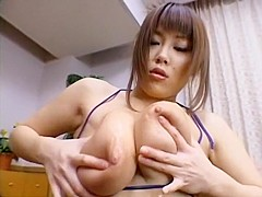 Crazy Japanese slut Towa Mitsui in Best Big Tits, POV JAV scene