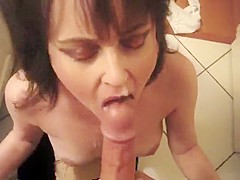 Exotic Homemade video with Brunette, POV scenes