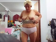 Amazing 59 years old granny