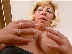 Hot Granny Sarah Is Ready For Black Cock