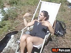 Volumptuous hot milf gets pussy fucked