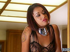 Skin Diamond gets eaten