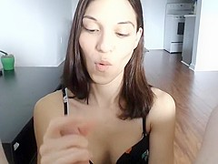 Crazy Amateur video with POV, Blowjob scenes