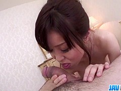 Big tits, Miina Kanno, devours cock in superb scenes