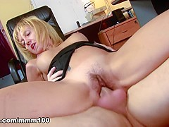 Eva Persson & Terry in Nasty Pretty And Hairy Milf Fucked And Assfucked - MMM100