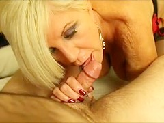 Horny Amateur record with Mature, Blonde scenes