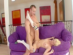 Incredible pornstar Kyleigh Ann in hottest blowjob, cunnilingus sex clip