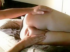 Wifes first time anal