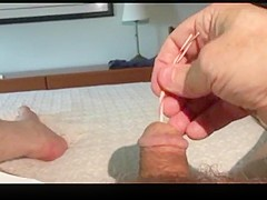 Wire Insertion into Penis