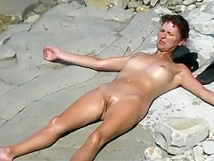 Playing with wife's pussy