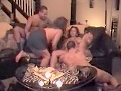 Incredible Homemade clip with Cunnilingus, Group Sex scenes