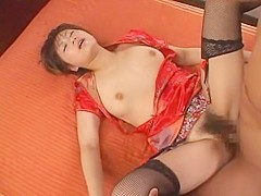 Incredible Japanese model in Horny Doggy Style, Cunnilingus JAV video