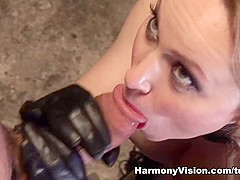 Aiden Starr in Fetish Bitch Gets Dominated - HarmonyVision