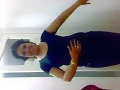 Egyptian girl dancing for her lover