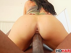 Romi Rain gets banged by Mandingo