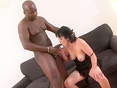 Amazing pornstar in best black and ebony, interracial xxx clip
