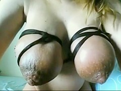 Voluptuous saggy incredible milf breasts