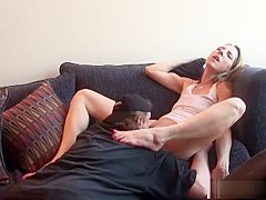 Best pornstars Marie Madison and Stella Marie in incredible creampie, brunette xxx movie