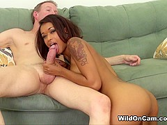 Skin Diamond in Fucking Skin Live - WildOnCam