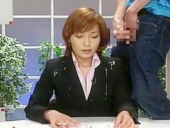 Amazing Japanese slut Reiko Makihara, Aki Tomosaki, Ryoko Mizusaki in Exotic Facial, Interview JAV m