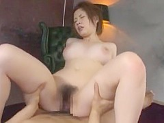 Crazy Japanese whore Saki Okuda in Amazing Big Tits JAV video
