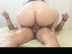 Chubby Wife Anal Riding