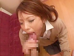 Incredible Japanese model Aoi Kawamuri in Fabulous Facial, Cunnilingus JAV movie