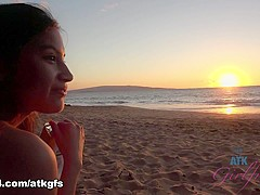 Zaya Cassidy in You enjoy the sunset with Zaya Cassidy - ATKGirlfriends