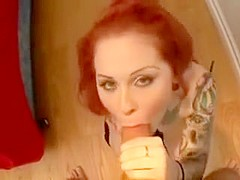 Exotic Homemade record with POV, Redhead scenes