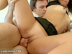 Angel Baby & Burke in Sexy And Pretty Blond Fucked As A Nasty Little Slut - MMM100