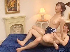 Amazing Japanese chick Akari Misaki in Hottest Small Tits, Doggy Style JAV video