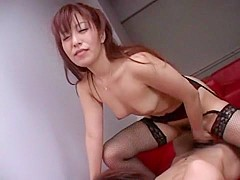 Crazy Japanese slut Naomi Hirose in Exotic Cougar, Rimming JAV clip