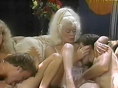 Hottest pornstars Bunny Bleu and Helga Sven in incredible hairy, milfs sex video