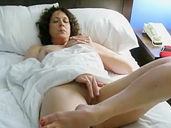 Fabulous Homemade video with Brunette, Solo scenes