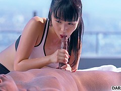 BBC For Sexy Asian Gal Marica Hase