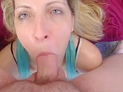 Crazy pornstar Marie Madison in horny swallow, deep throat adult video