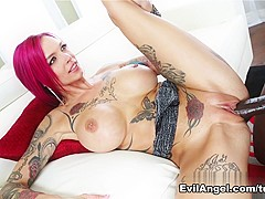 Amazing pornstars Lexington Steele, Anna Bell Peaks in Hottest Redhead, Big Tits adult movie