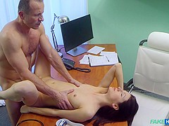 Fabulous pornstar in Best Brunette, Medical adult clip