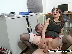 Crazy pornstar in Fabulous Stockings, MILF adult scene