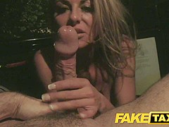 Best pornstar in Crazy Reality, Blowjob adult movie