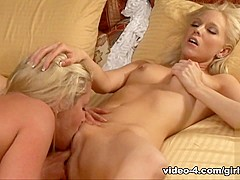 Fabulous pornstars Brea Bennett, Samantha Ryan in Best Blonde, Fingering porn video
